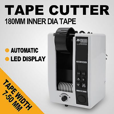 10-999mm Automatic Tape Dispensers Cutter Adhesive AC110V M-1000 3 Digit LED