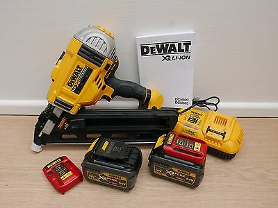 Dewalt Xr 18V Dcn692 Nailer Kit 2 X Dcb546 6 Ah Flexvolt Batteries + Toughcase