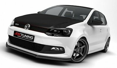 VW POLO 6R MK5 GTI Cup Spoilerlippe Front Ansatz Diffusor strukturiert ABS