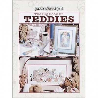 The Big Book of Teddies Cross Stitch Chart-48 Designs