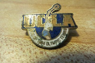 Ucla,site Of 1984 Olympic Tennis Sports Logo Original Pin