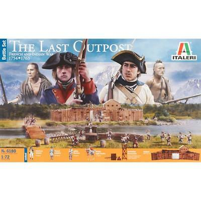 NEW Italeri 1/72 French/Indian War 1754-1763 Outpost 6180S