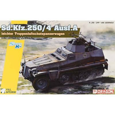 NEW Dragon Models 1/35 Sd.Kfz.250/4 Ausf A Leichter Truppen 6878