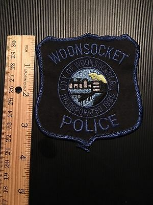 Woonsocket  Rhode Island   Police Shoulder Patch