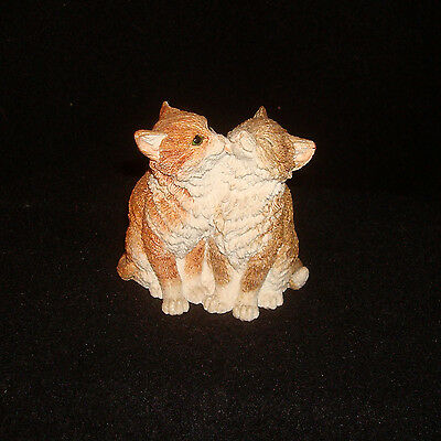 Country Artists Cats Figurine - Kittens Licking - Number Unknown