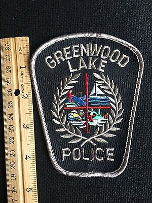 Greenwood  New York  Police  Shoulder Patch