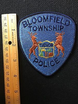 Bloomfield  Michigan Police  Shoulder Patch