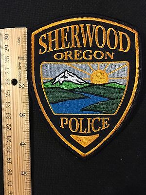 Sherwood  Oregon  Police  Shoulder Patch