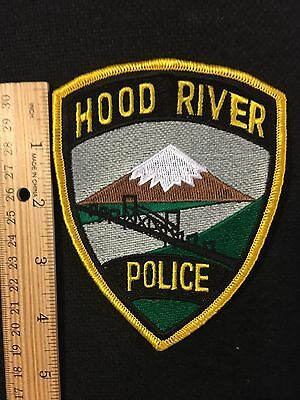 Hood River  Oregon  Police  Shoulder Patch