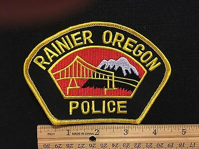 Rainier  Oregon  Police  Shoulder Patch