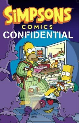 Simpsons Comics - Confidential by Matt Groening Book The Cheap Fast Free Post