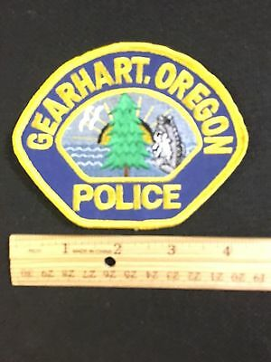 Gearhart  Oregon  Police  Shoulder Patch