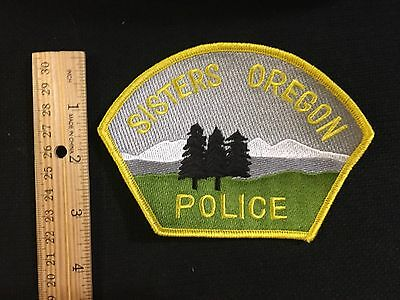 Sisters Oregon  Police  Shoulder Patch