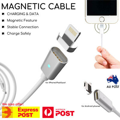 USB Magnetic Charging Data Sync Cable Charger for iPhone Android Samsung EPARCEL