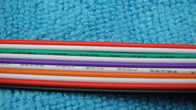 5 meter IDC Connector 10-Way Rainbow Ribbon Flat Cable