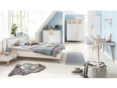 jugendzimmer victor 6tlg mit 90er bett kinderzimmer komplett set 110494 eur 937 00 picclick de. Black Bedroom Furniture Sets. Home Design Ideas