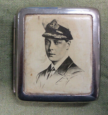 #d301.  Cigarette Case - Future Edward Viii Design, Pre 1936