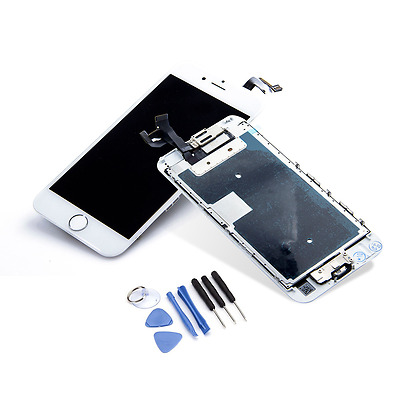LCD Touch Screen Digitizer Display Full Assembly Replacement for iPhone 6S WHITE