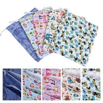 Waterproof Reusable Zip Wet Dry Bag for Infant Cloth Diaper Nappy Pouch Swim Bag