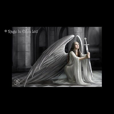 *THE BLESSING* Gothic Angel Art 3D Picture By Anne Stokes (40x30cm approx)
