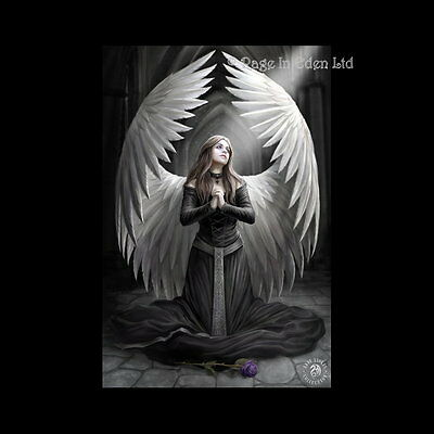 *PRAYER FOR THE FALLEN* Gothic Angel Art 3D Picture Anne Stokes (40x30cm approx)