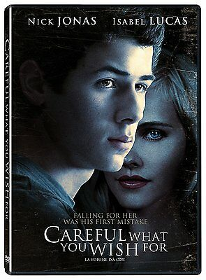 Careful What You Wish For (DVD) Nick Jonas, Isabel Lucas NEW