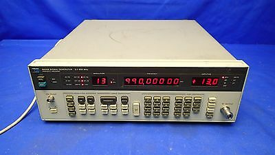 HP 8656B SIGNAL GENERATOR 0.1-990 MHz TESTED w/OPT 002