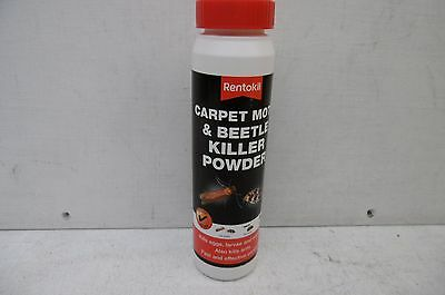 Rentokil Carpet Moth & Beetle Killer Powder 150 Gram