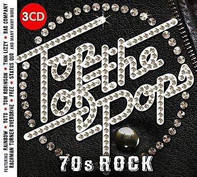 TOP OF THE POPS 70's ROCK 3-CD SET - VARIOUS ARTISTS (Released July 2017)