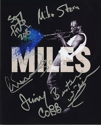 Miles Davis Tribute Signed by Jimmy Cobb, Buster Williams, Sonny Fortune +2