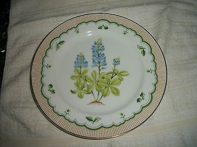 """Georges Briard Private Collection """"Texas BlueBonnet"""" 7 1/2"""" Plate"""
