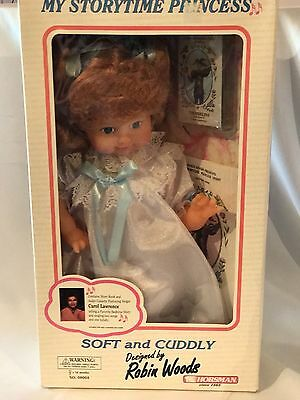 "Robin Woods Doll  Horsman Doll ""my Storytime Princess""  Storybook & Cassette"