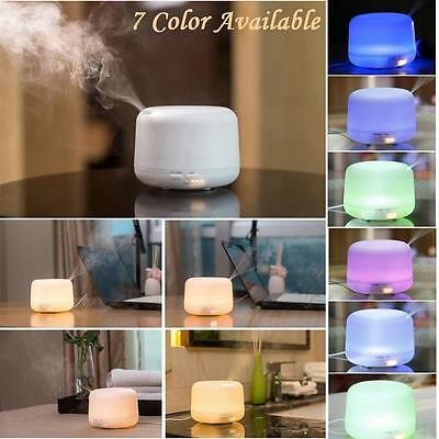 New Ultrasonic Aroma Essential Oil Diffuser Humidifier with Remote Control 300ml