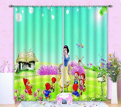 3D Forest Girl 103 Blockout Photo Curtain Printing Curtains Drapes Fabric Window