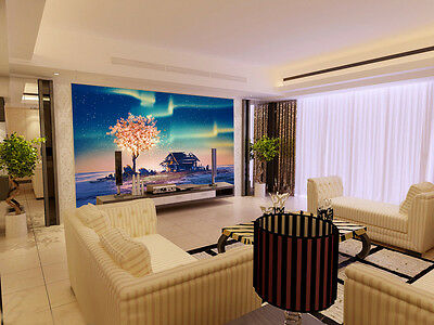 3D Sky tree house 1 WallPaper Murals Wall Print Decal Wall Deco AJ WALLPAPER