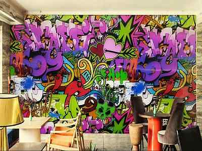 3D Graffiti Strokes 74 WallPaper Murals Wall Print Decal Wall Deco AJ WALLPAPER