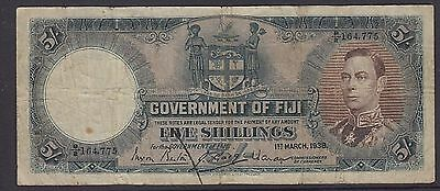 Fiji - 1938 ,Pound Banknote in Fine condition -  as imaged