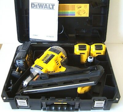 DeWALT DCN690M2 18v XR First fix framing nailer 2 x 4Ah Batteries