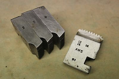 "Alfred Herbert 13/16"" x 12 Tpi BSF Coventry Die Chasers For 1""Head CD378"