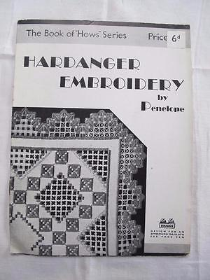 "Vintage 1920's Briggs ""Hardanger Embroidery"" Instruction Pattern Magazine"