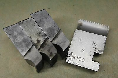 "Alfred Herbert 1"" x 16 Tpi Whitworth Form Coventry Die Chasers CD396"