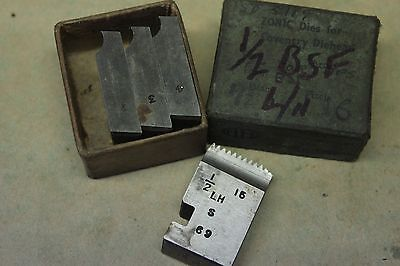 """Alfred Herbert Zonic 1/2"""" x 16 Tpi BSF Left Hand Coventry Die Chasers CD411"""