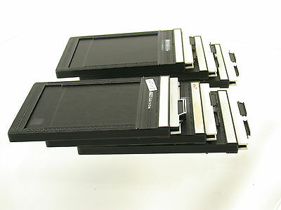 FIDELITY Elite 9x12 cut sheet film holder Planfilm-Kassette x6  /17