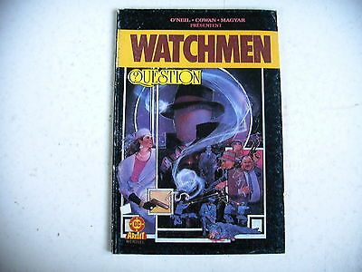 BD - WATCHMEN question ? édition AREDIT 1987