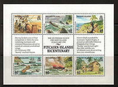 PITCAIRN ISLANDS SG356a 1990 SETTLEMENTS  MNH