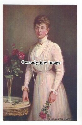 r1156 - Queen Mary wife of King George V - art postcard by Tucks