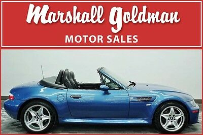 2000 BMW M Roadster & Coupe M Roadster Convertible 2-Door 2000 BMW Z3 M Roadster Estoril Blue Metallic w/Black leather only 24,000 miles