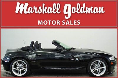 2007 BMW Z4 M Roadster Convertible 2-Door 2007 BMW Z4 M Sapphire Black with Black 6 speed only 20,000 miles