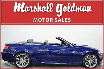 2010 BMW M3 Base Convertible 2-Door 2010 BMW M3 Convertible Interlagos Blue with Palladium SMG only 31400 miles