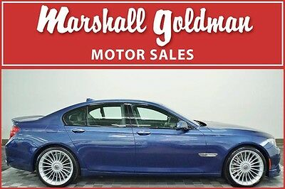 2011 BMW 7-Series Base Sedan 4-Door 2011 BMW B7 Alpina ALPINA Blue Black Nav Night vision Blind spot 37,100 miles
